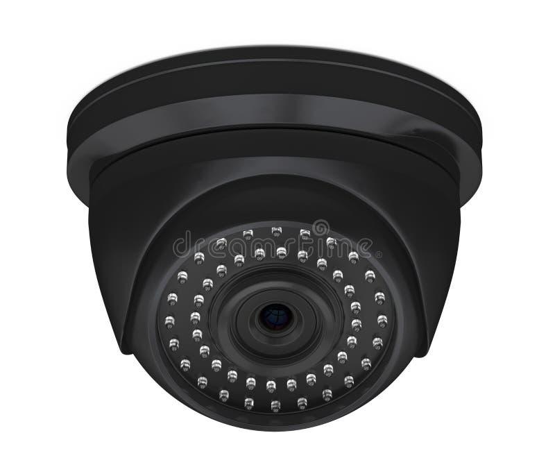 Isolerad kamera f?r kupolCCTV-s?kerhet stock illustrationer
