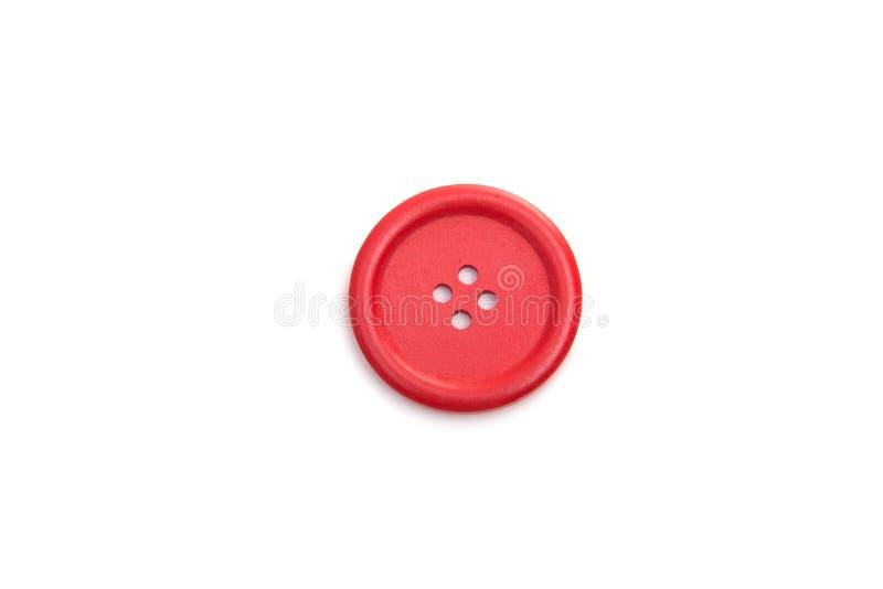 Isolerad knapp för clothmaking fotografering för bildbyråer