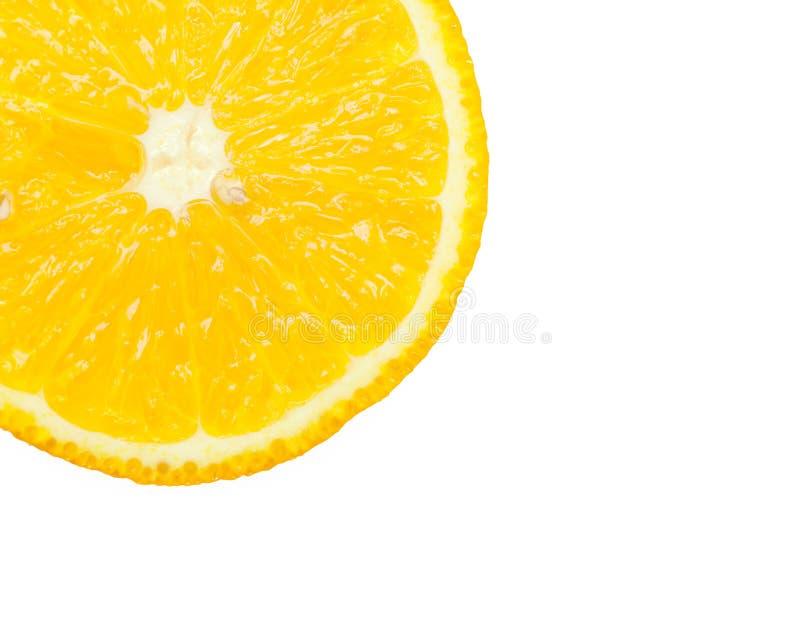 en gul apelsin