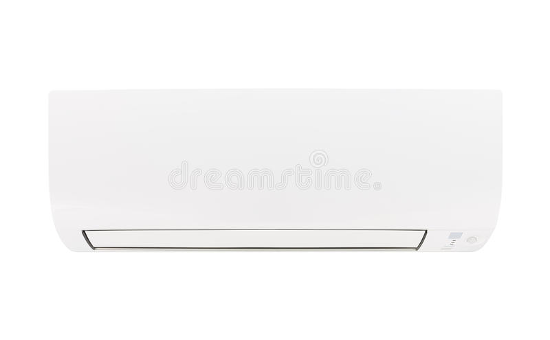 isolerad luftkonditioneringsapparat royaltyfria foton