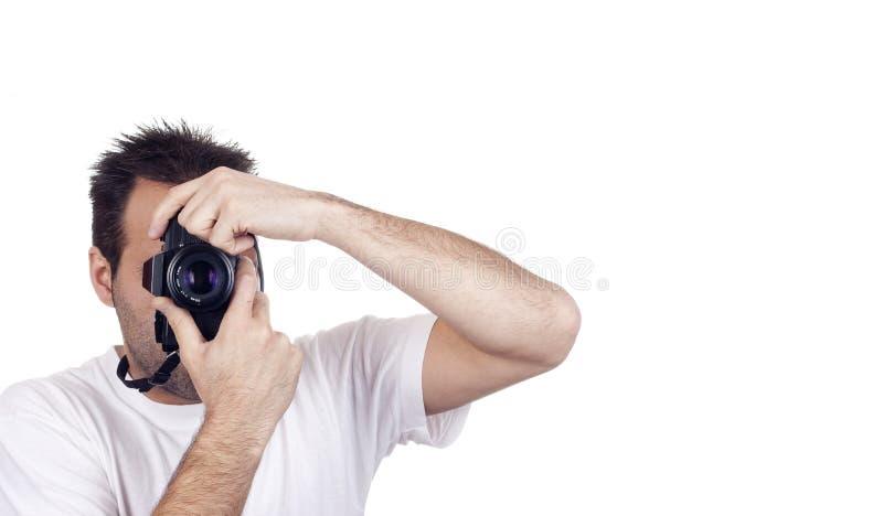 isolerad manfotografi arkivbilder