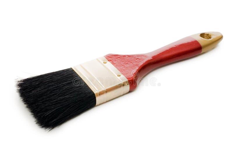 isolerad paintbrushwhite arkivbild