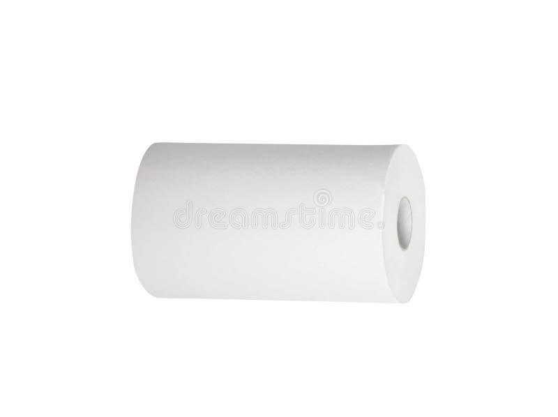 isolerad paper toalett arkivfoto