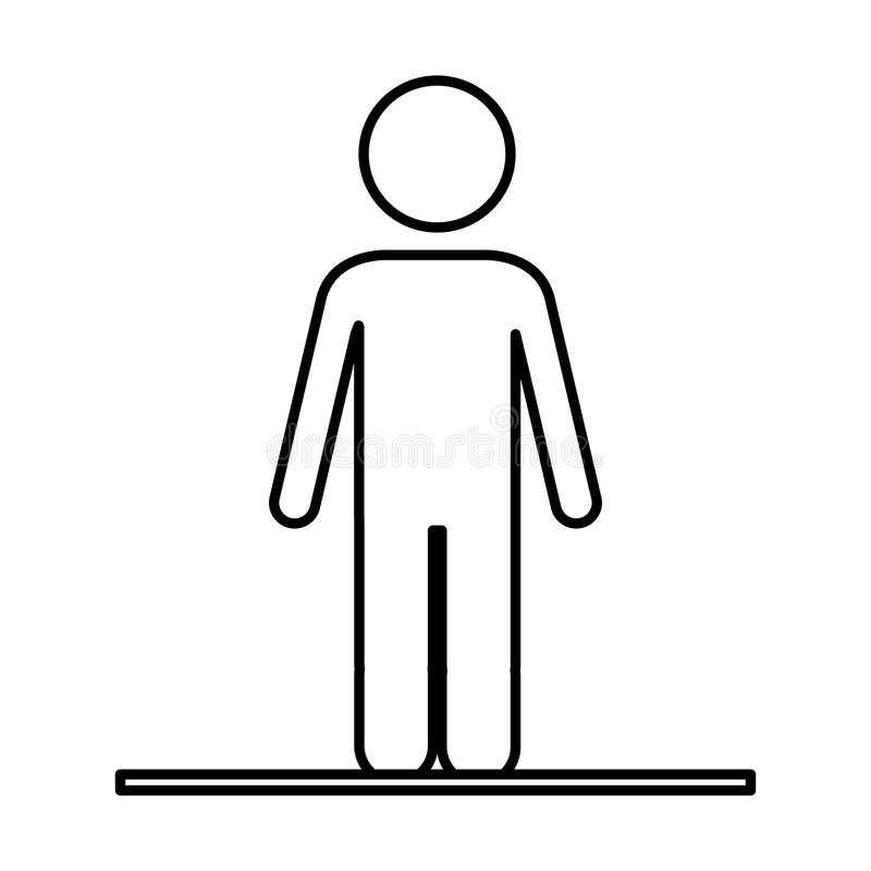 Isolerad pictogramdesign stock illustrationer