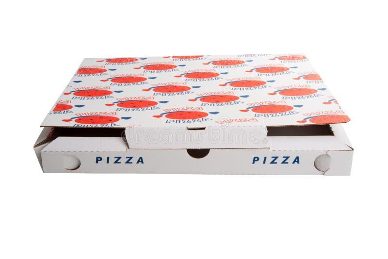 Isolerad pizzaask arkivbilder