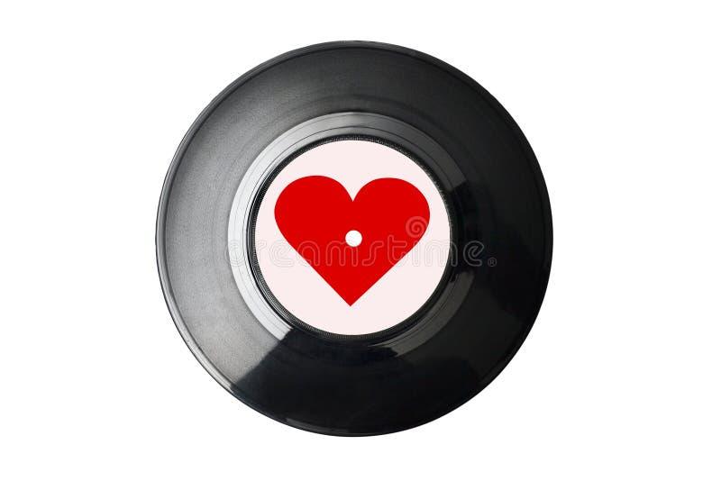 isolerad registrerad vinyl royaltyfri foto