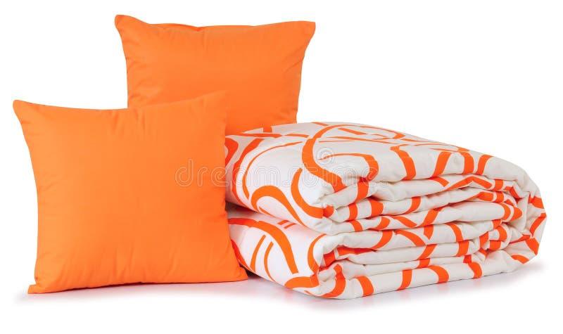 isolerad sängkläder arkivbilder