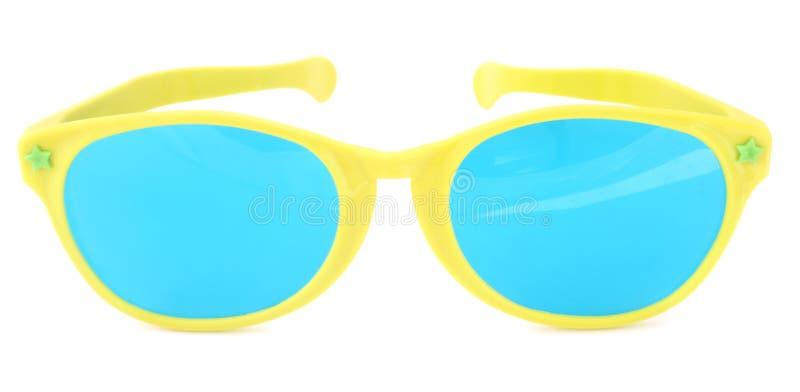 isolerad solglasögon royaltyfri fotografi