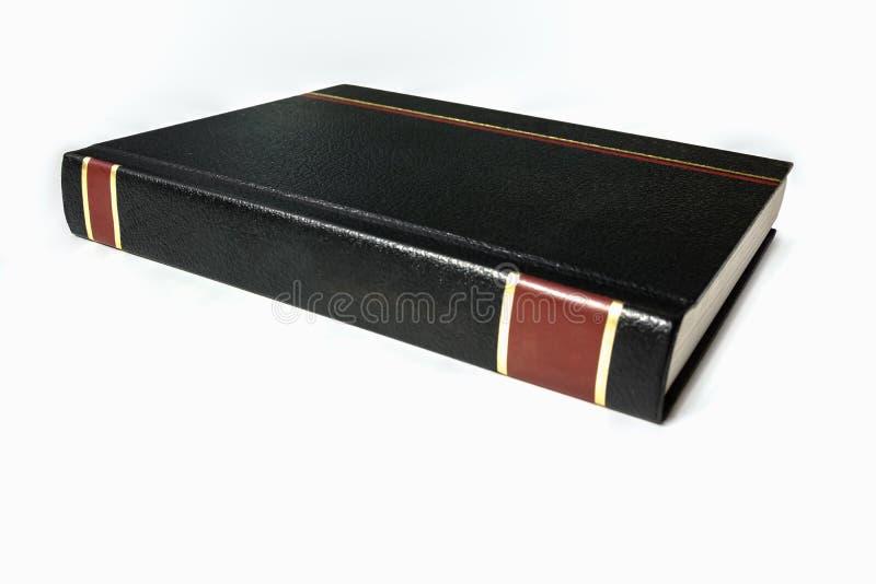 Isolerad svart för gammal stil piskar bokomslag royaltyfri foto