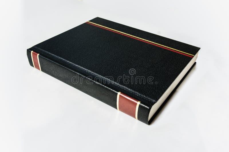 Isolerad svart för gammal stil piskar bokomslag arkivbilder