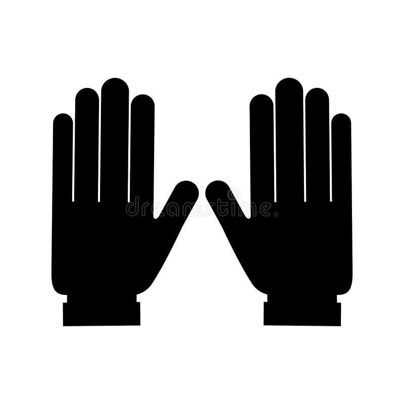 Isolerad symbol för elektriker hjälpmedel stock illustrationer