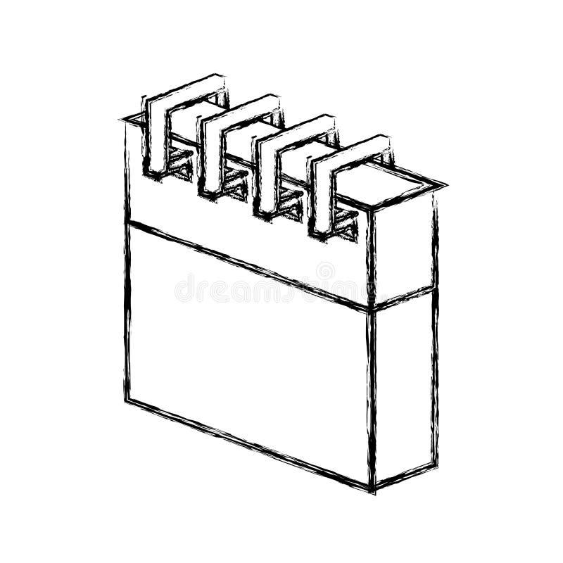 Isolerad symbol för kalenderdatum vektor illustrationer