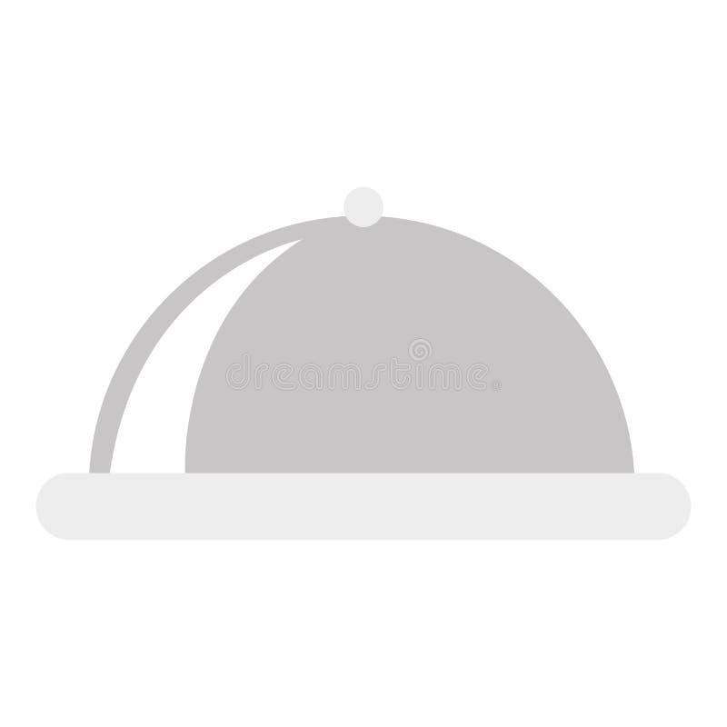 Isolerad symbol för magasin server stock illustrationer