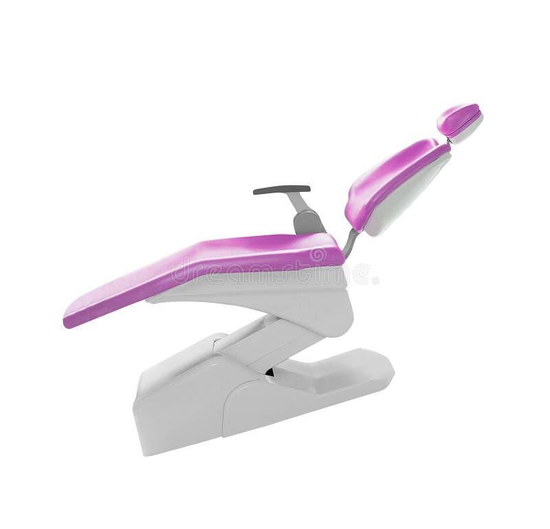 Isolerad tand- stol royaltyfria bilder