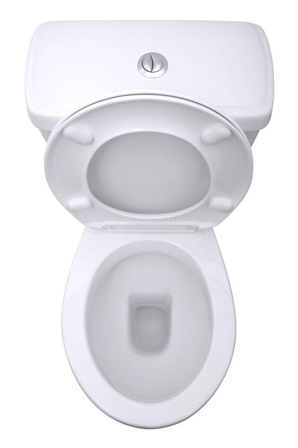 isolerad toalett arkivfoto