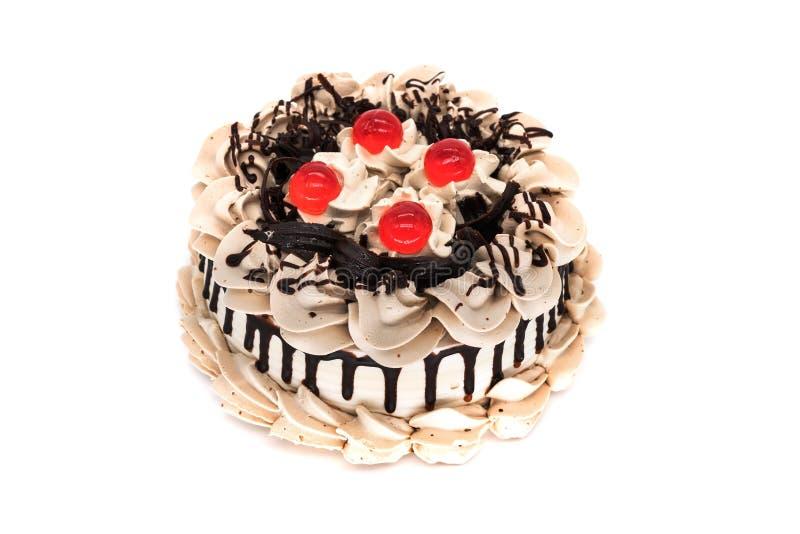 Isolerad Torte royaltyfri bild