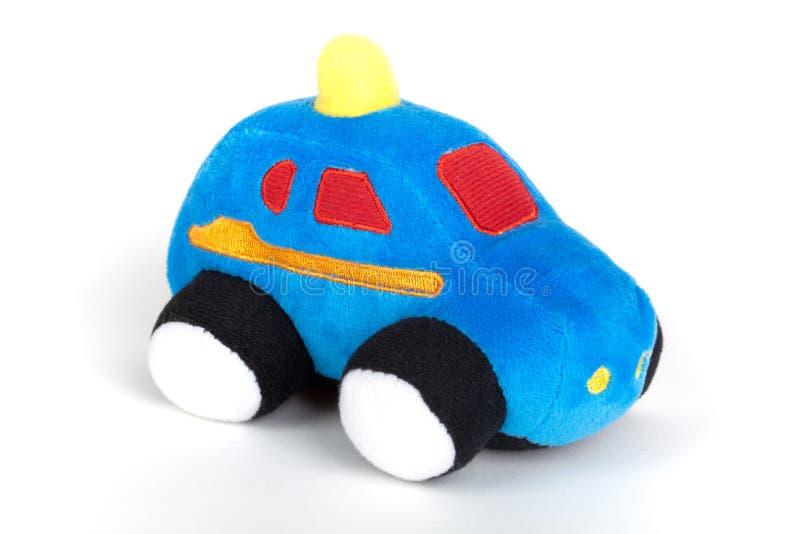 isolerad toywhite för bakgrund bil royaltyfri fotografi