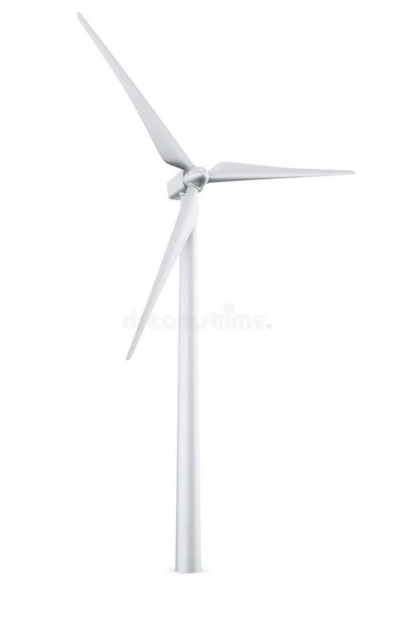 isolerad turbinwind vektor illustrationer