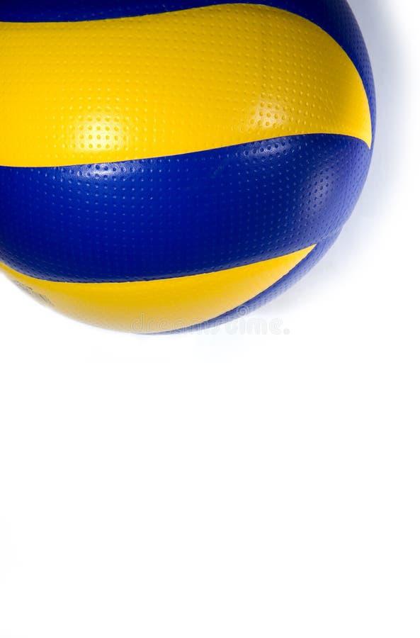 isolerad volleyboll fotografering för bildbyråer