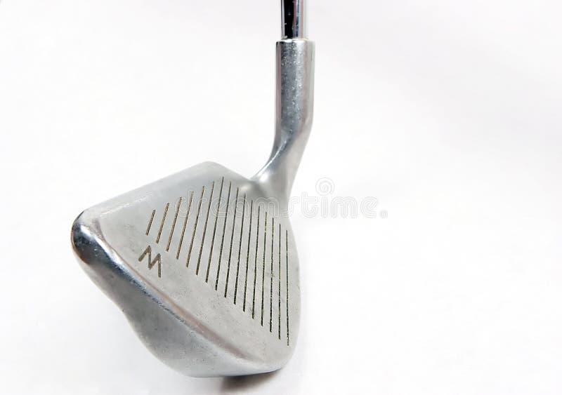 isolerad wedgewhite för klubba golf royaltyfri bild