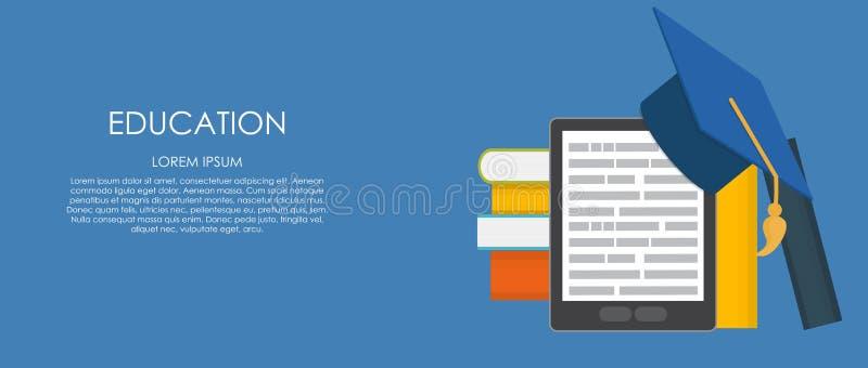 isolerad white för affärsidé utbildning Trender och innovation i utbildning royaltyfri illustrationer