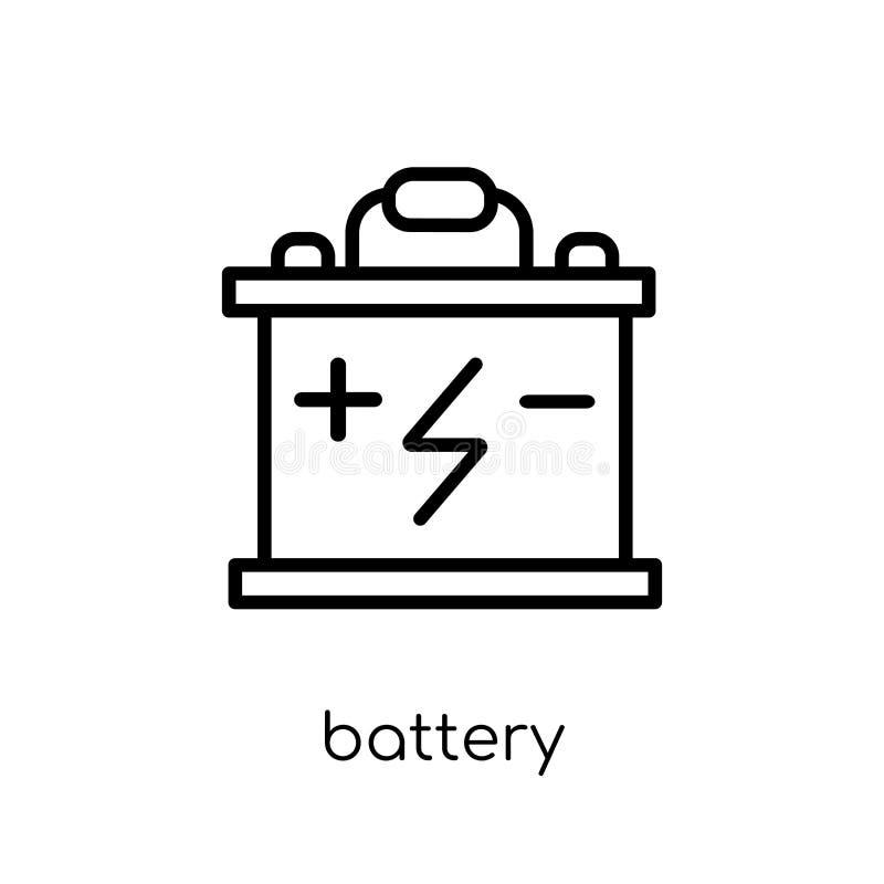 isolerad white för bakgrundsbatteri symbol  stock illustrationer