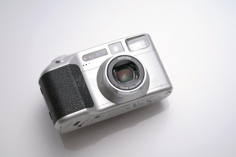 isolerad white för bakgrundskamera compact royaltyfria foton