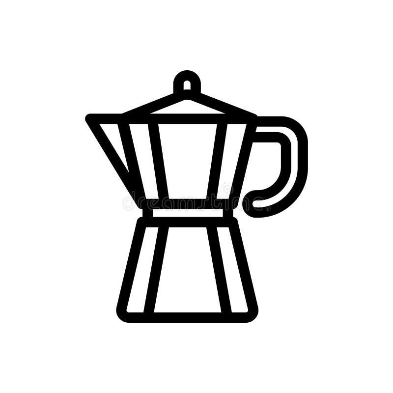 isolerad white f?r kaffe drink vektor illustrationer