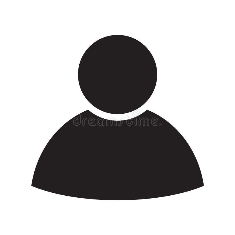 Isolerade den plana affären för personen design för symbolssymbolillustration vektor illustrationer