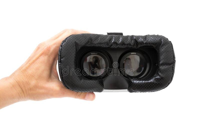 isolerade exponeringsglas för vraskvirtuell verklighet förestående arkivbild
