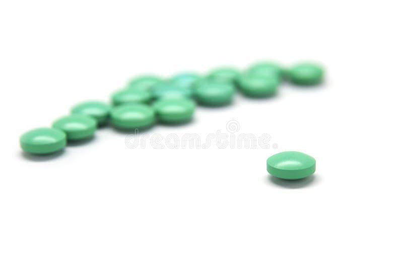 Download Isolerade Gröna Preventivpillerar Fotografering för Bildbyråer - Bild av hjälp, livsstil: 37348889