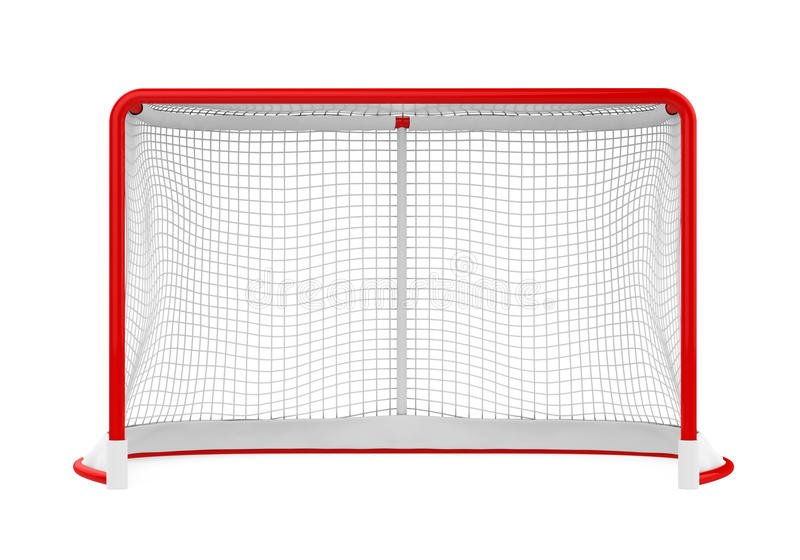 Isolerade hockeyportar vektor illustrationer