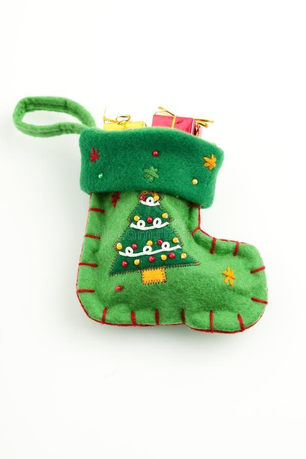 isolerade julgåvor lagerföra white royaltyfri fotografi