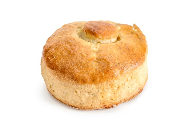 Isolerat Bisquet sött bröd arkivbild