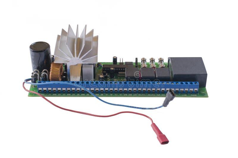 Isolerat bräde för elektronisk strömkrets arkivfoton