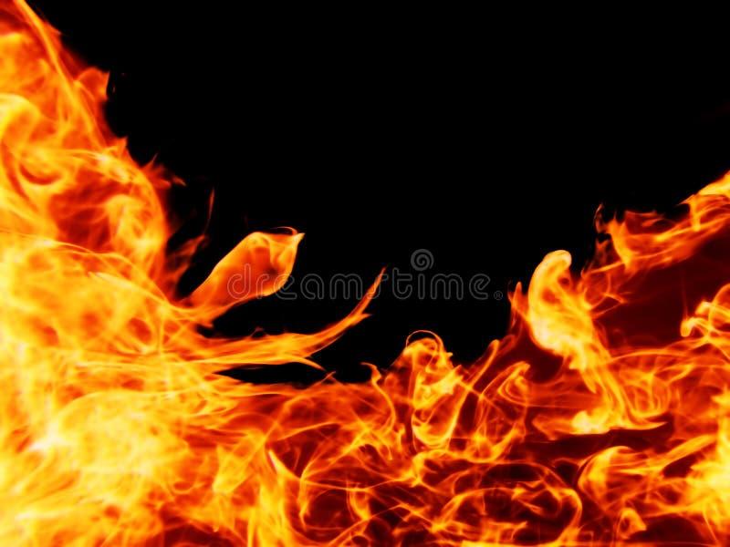 isolerat brännhett för bakgrund arkivfoto