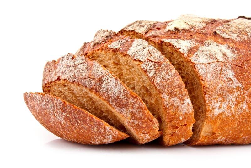 isolerat bröd arkivbild