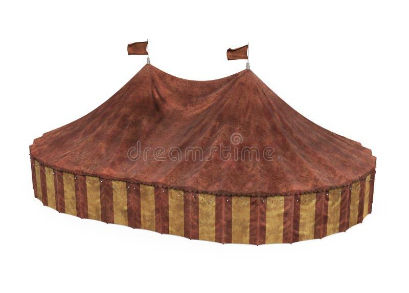 Isolerat cirkust?lt royaltyfri illustrationer