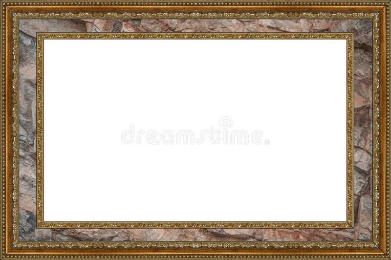 Isolerat fotoram, bildram fotografering för bildbyråer