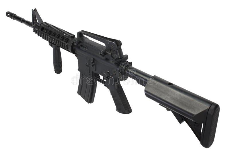 Isolerat gevär för anfall M4 royaltyfri bild
