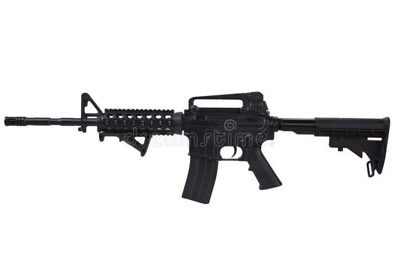 Isolerat gevär för anfall M4 fotografering för bildbyråer