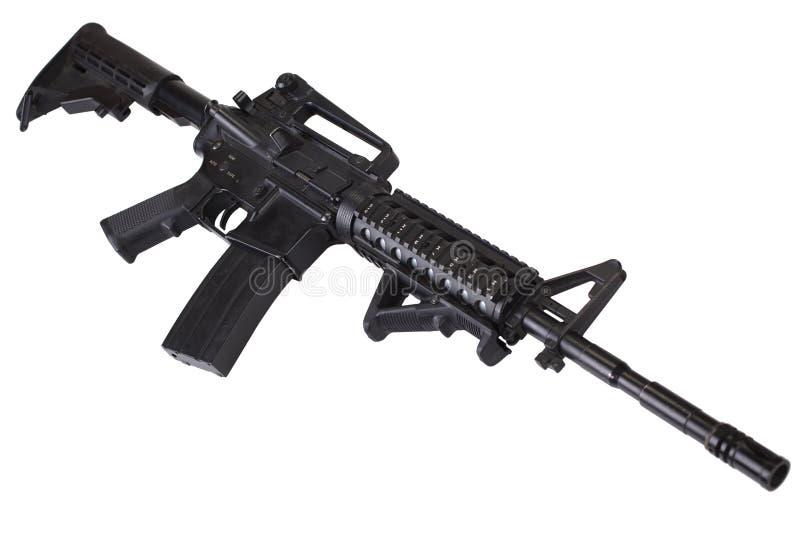 Isolerat gevär för anfall M4 arkivbilder