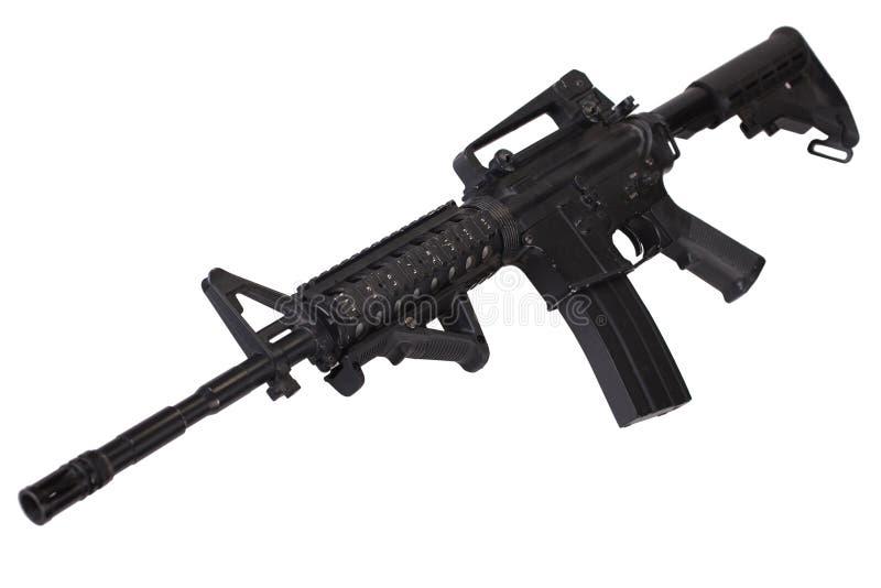 Isolerat gevär för anfall M4 royaltyfria foton
