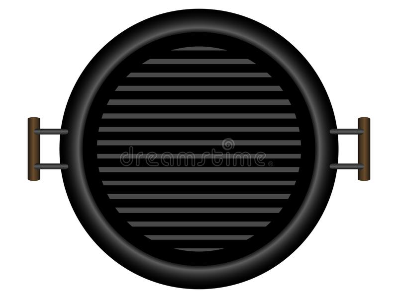 isolerat grillfestgaller vektor illustrationer