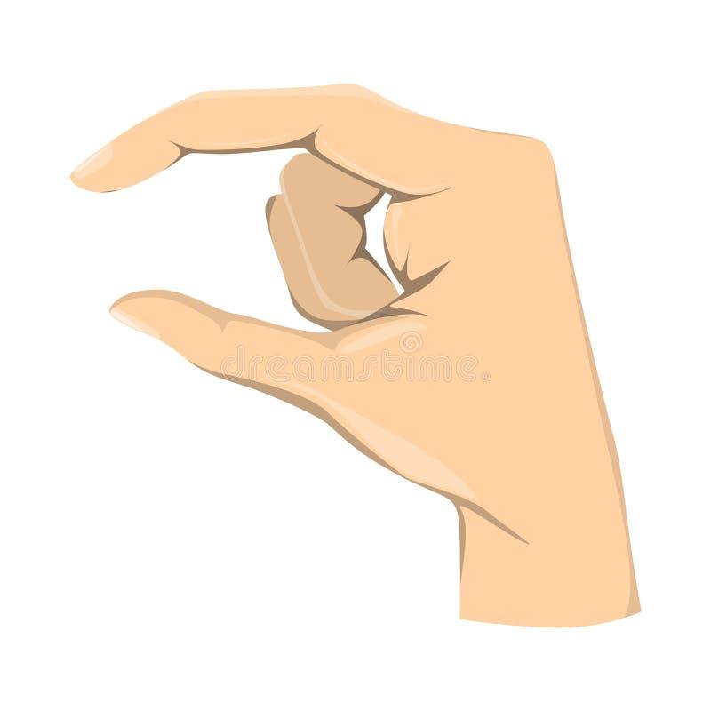 Isolerat litet belopp gest stock illustrationer