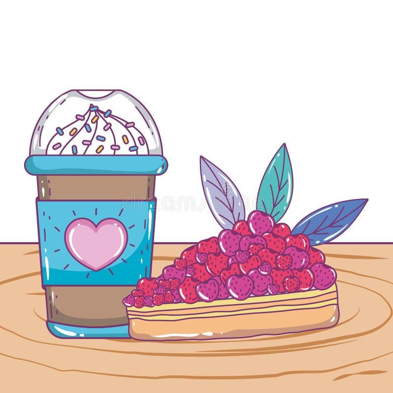 Isolerat med is kaffe rånar vektordesign vektor illustrationer