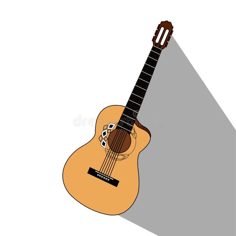 Download Isolerat musikinstrument vektor illustrationer. Illustration av symbol - 106830280