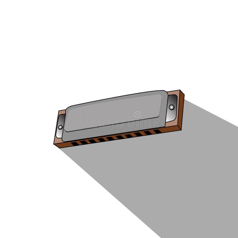 Download Isolerat musikinstrument vektor illustrationer. Illustration av aconiten - 106830311