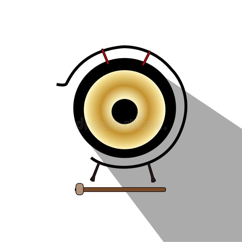 Download Isolerat musikinstrument vektor illustrationer. Illustration av musik - 106830401