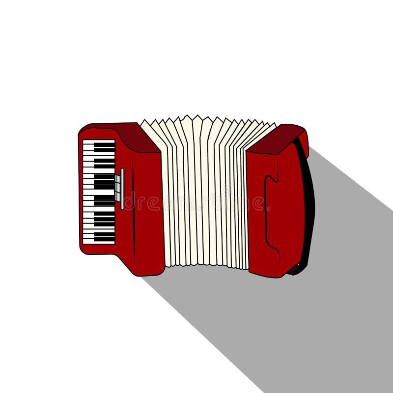 Download Isolerat musikinstrument vektor illustrationer. Illustration av rock - 106830403